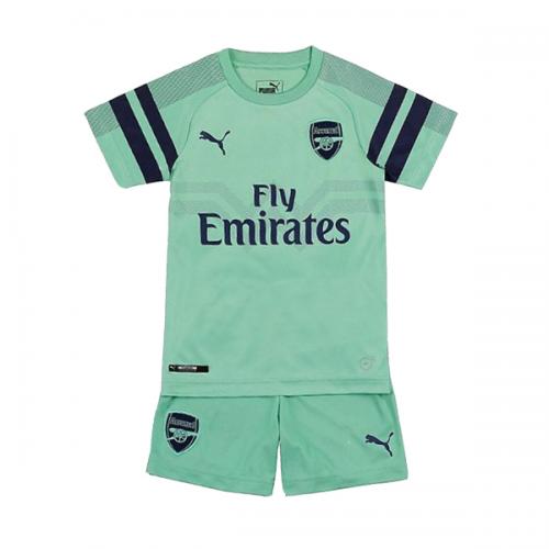 18 19  arsenal  third Away Green  Children s  jersey Kit(Shirt+Short ... e40065791