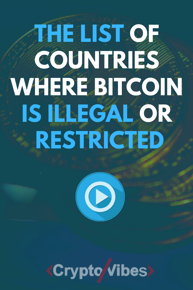 countries where bitcoin is illegal