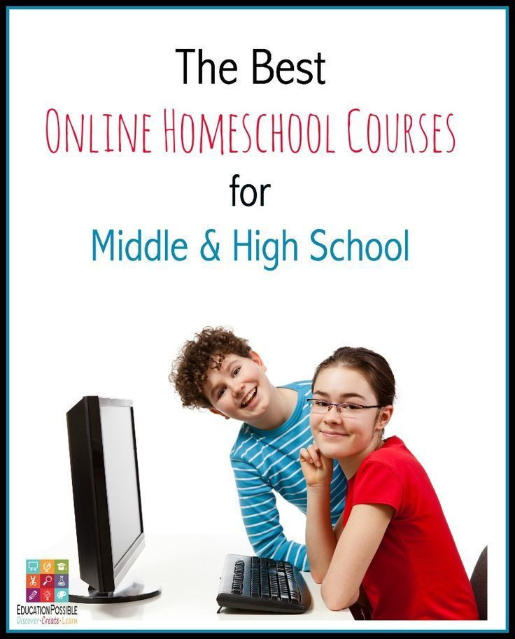 A terrific list of resources and online homeschool courses