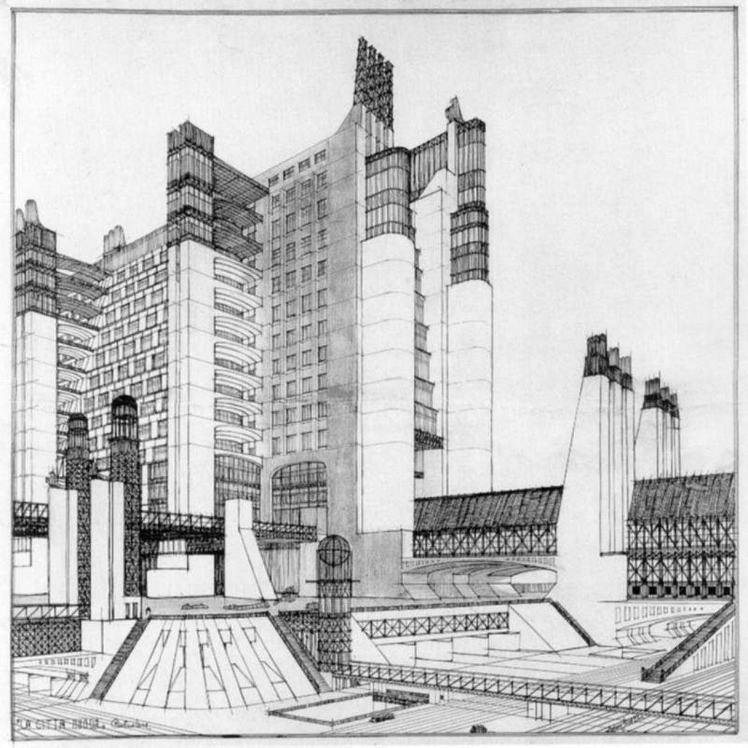 La Città Nuova, Antonio Sant'Elia | Utopia | Pinterest