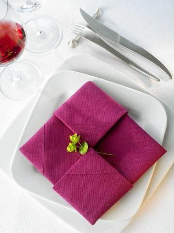 35 Beautiful Examples Of Napkin Folding Beautiful Napkin Folding