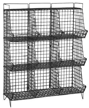Industrial Wire 9 Cubby Storage images