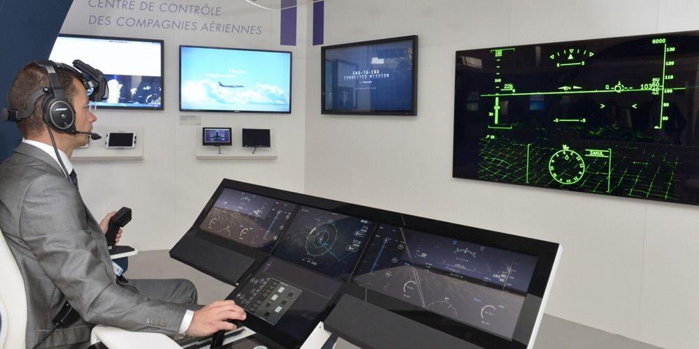 Pilot workload: better use of cognitive resources - Paris Air Show