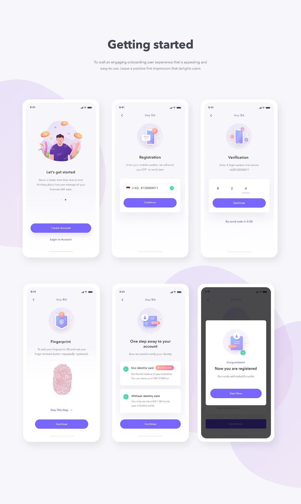 Expense Manager App Designs On Behance Desain App Desain Aplikasi Android Desain Web