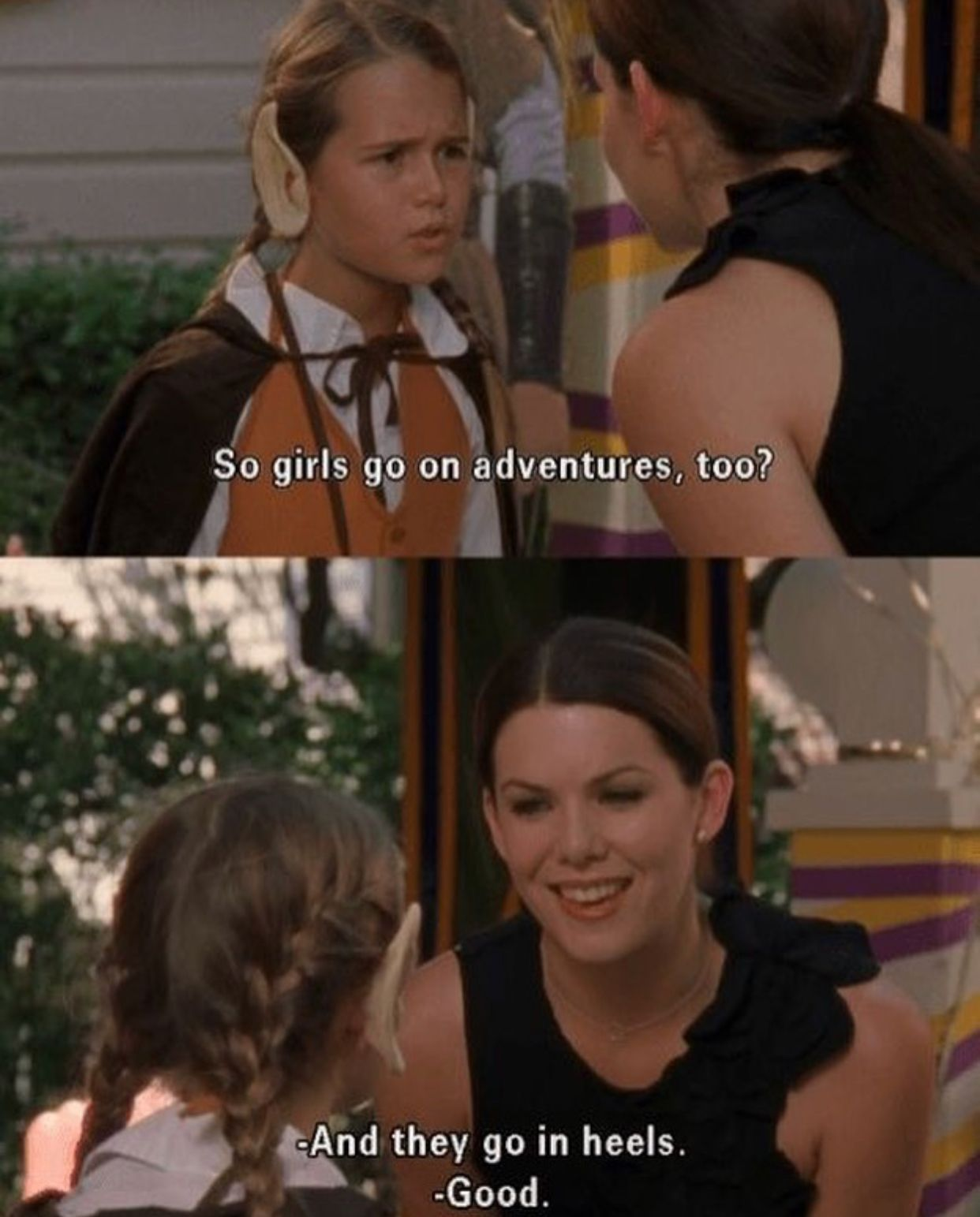 What Gilmore Girls Can Teach Us About Consent Femestella Glimore Girls Girlmore Girls Gilmore Girls