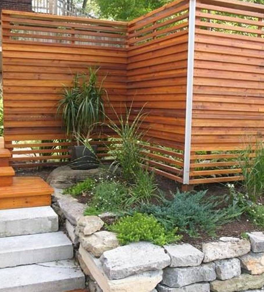 landscaping and outdoor building calm backyard japanese fence