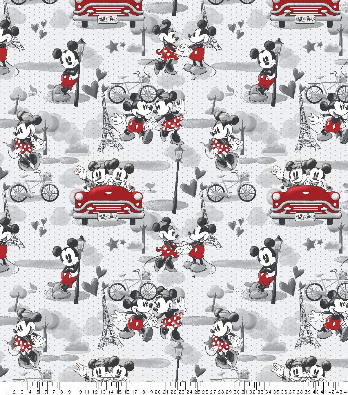 Disney Mickey Minnie Fleece Fabric Vintage Romance Joann Papeis De Parede Mickey Papel De Parede Da Disney Estampas