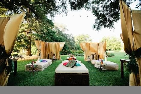 Moroccan wedding garden cocktail party google search for Outdoor cocktail party decorating ideas