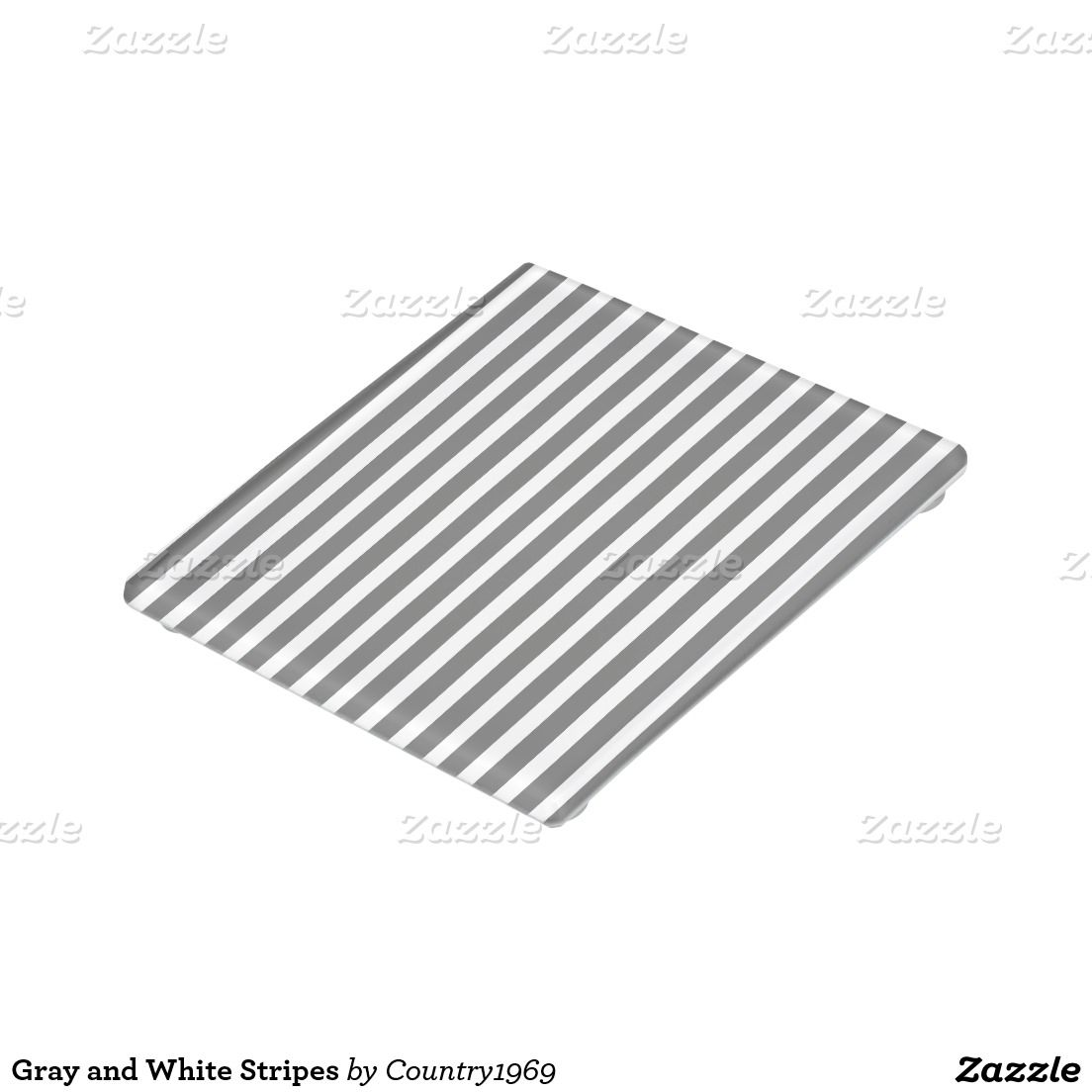 Gray And White Stripes Glass Coaster Zazzle Com Glass Coasters