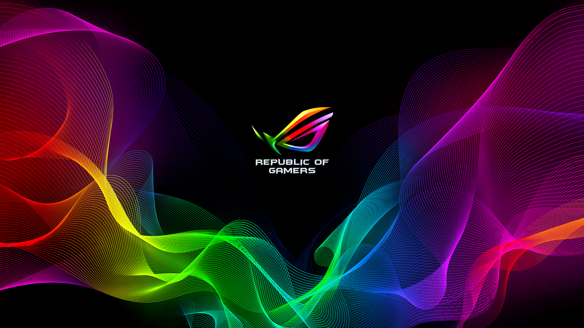 Rgb Rog Wallpaper Based On The One From Razer Desktop Wallpaper Art Live Wallpaper For Pc Pc Desktop Wallpaper