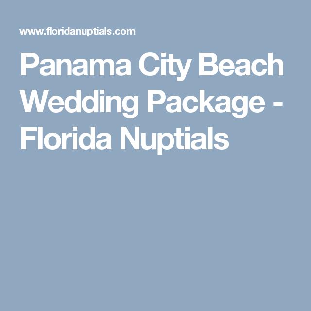 Panama City Beach Wedding Package