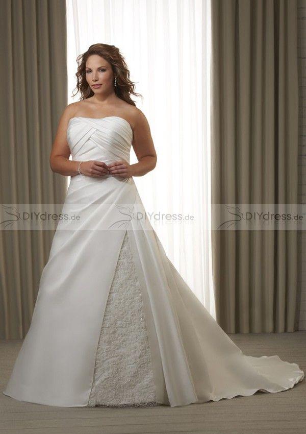 plus size wedding dress | Brautkleid | Pinterest | Wedding dress ...