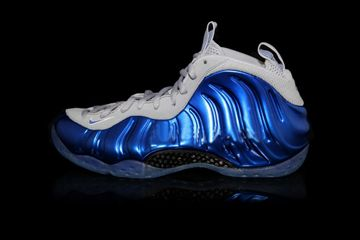 new concept 0df98 1daeb Penny Hardaway Air Foamposite One Sport Royal Game Royal Wolf Grey Men Shoes
