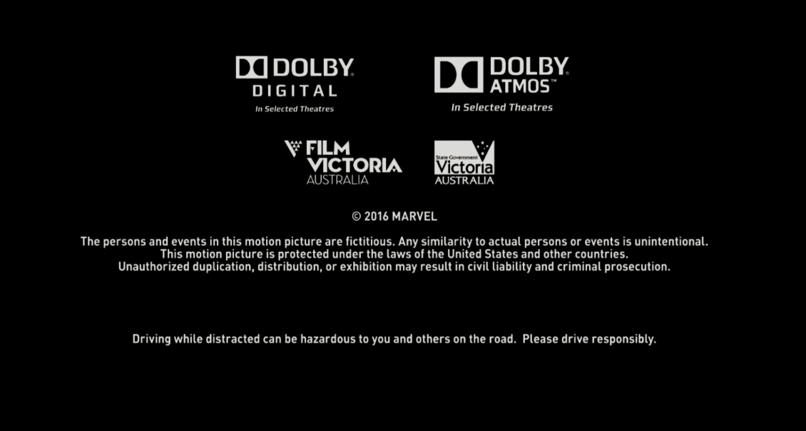 Detail Doctor Strange 2016 At The End Credits Marvel Actually Put A Drive Responsibly Message Doctor Strange Obscure Facts Marvel