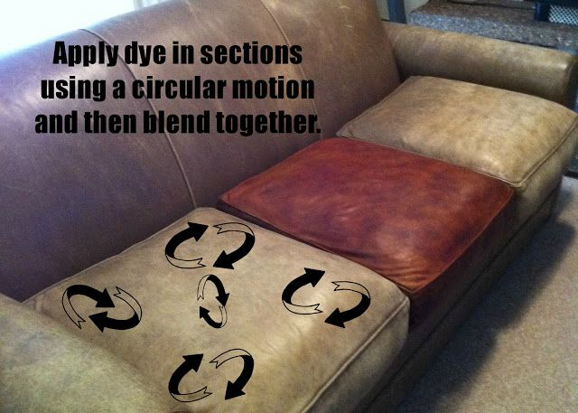 I Will Be Dyeing Our Old Leather Sofa And I Am Glad