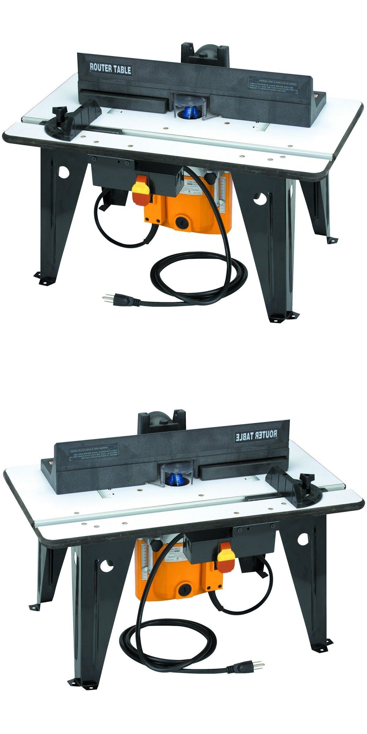 Router Table Bench Top With 1 3 4 Hp Router 11 Amps Woodshop 638084243527 Ebay Router Table Top Routers Router Tables