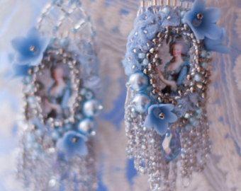 TUTORIAL // Vintage Repurposed Jewelry Statement by lagoadesigns