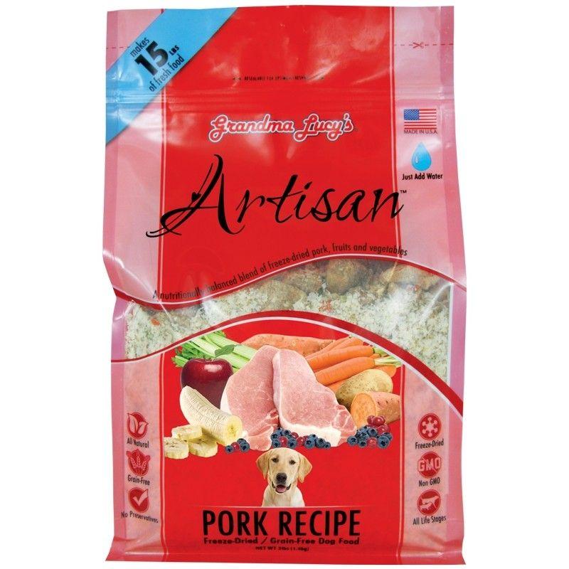 Grandma Lucy S Artisan Freeze Dried Grain Free Dog Food Pork