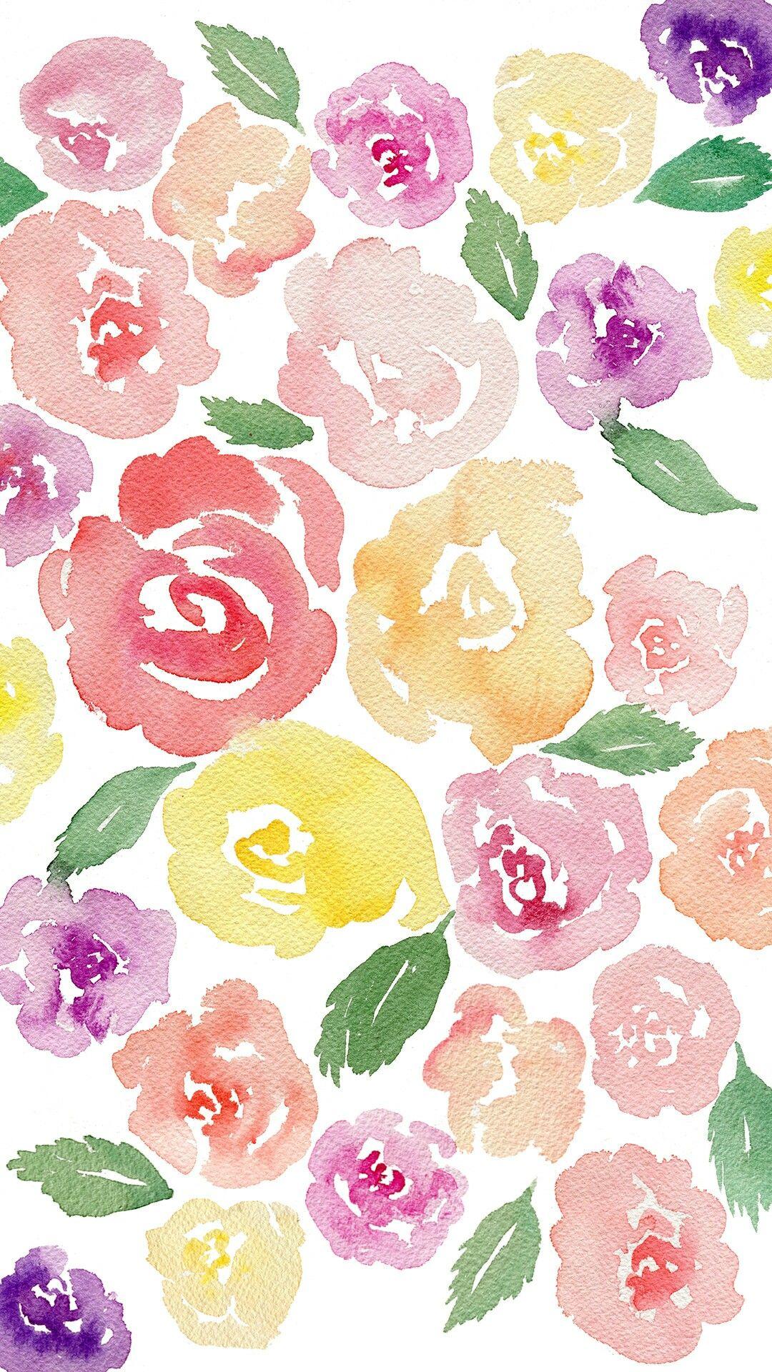 Watercolor Floral Ilustracao Da Arte Album De Casamento Arte