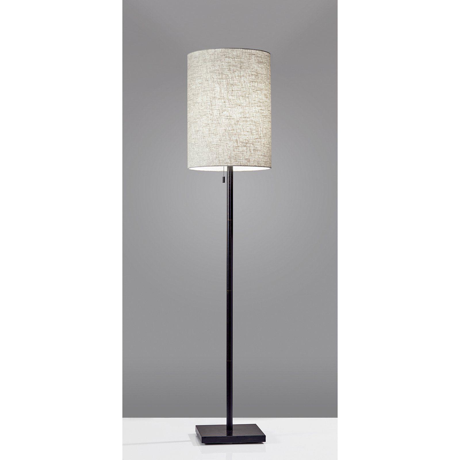 "Adesso 1547 Liam 1 Light 601/2"" Tall Floor Lamp Walmart"
