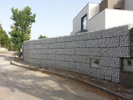 GAVIONES MALLA ELECTROSOLDADA Muros de Piedra Pinterest