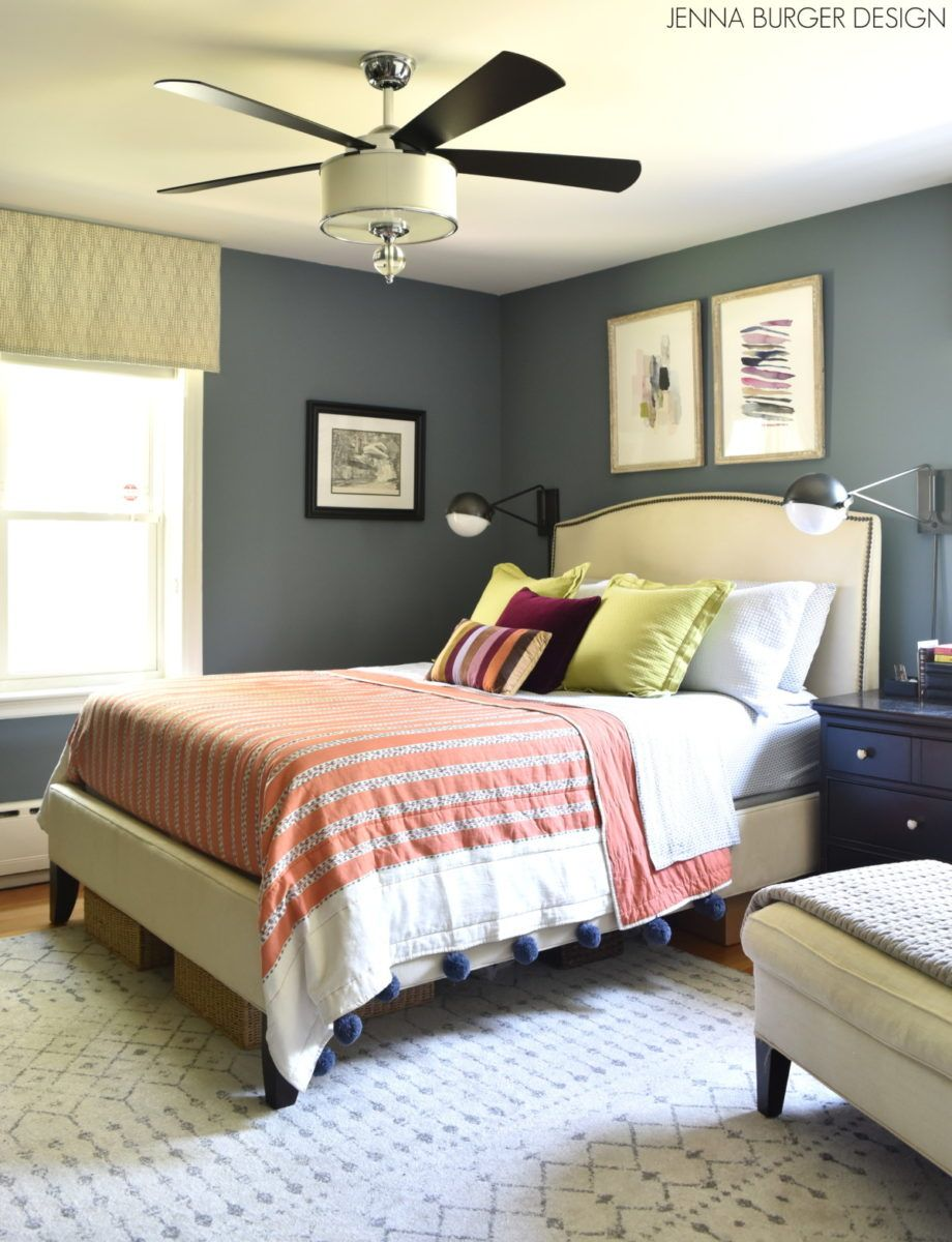 Blue Bohemian Bedroom Bohemian bedroom, Bedroom refresh