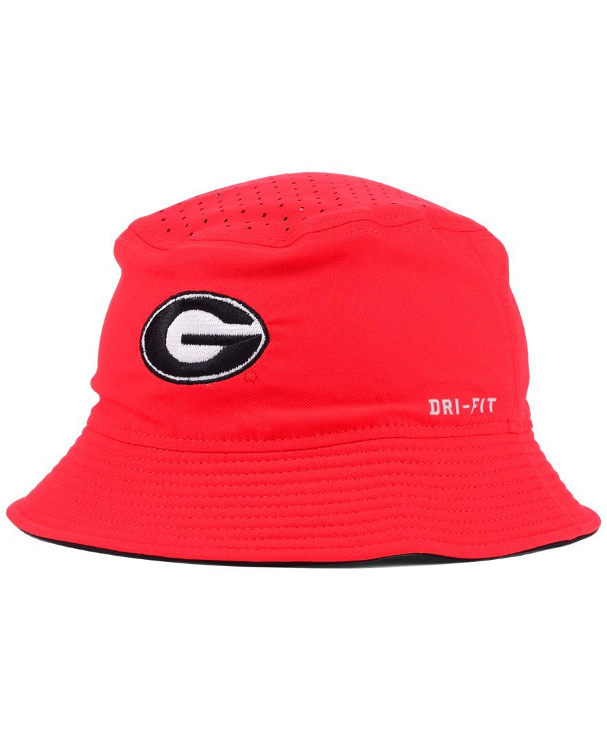 Nike Georgia Bulldogs Vapor Bucket Hat