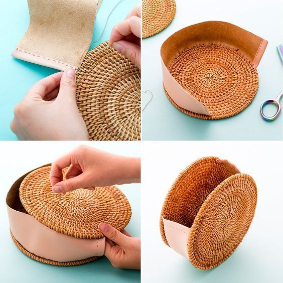 DIY That MustHave Straw Circle Bag for 25 via Brit  Co