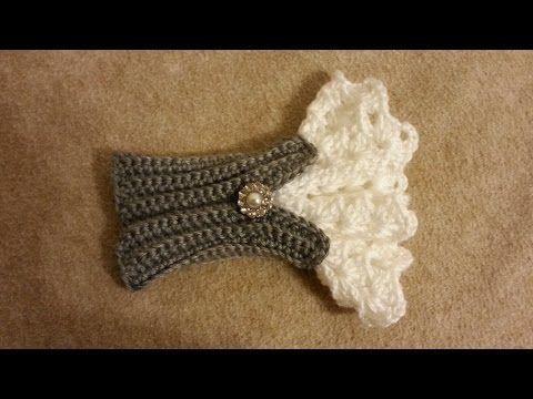 Photo of #Crochet Schöne Armbandmanschette im viktorianischen Stil #TUTORIAL häkeln Frauen – www …