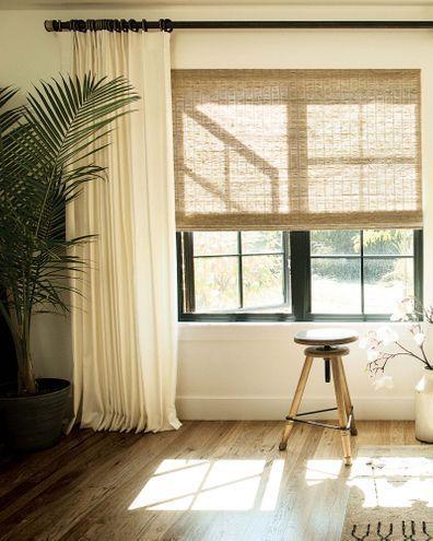 Natural Woven Shades #windowtreatments