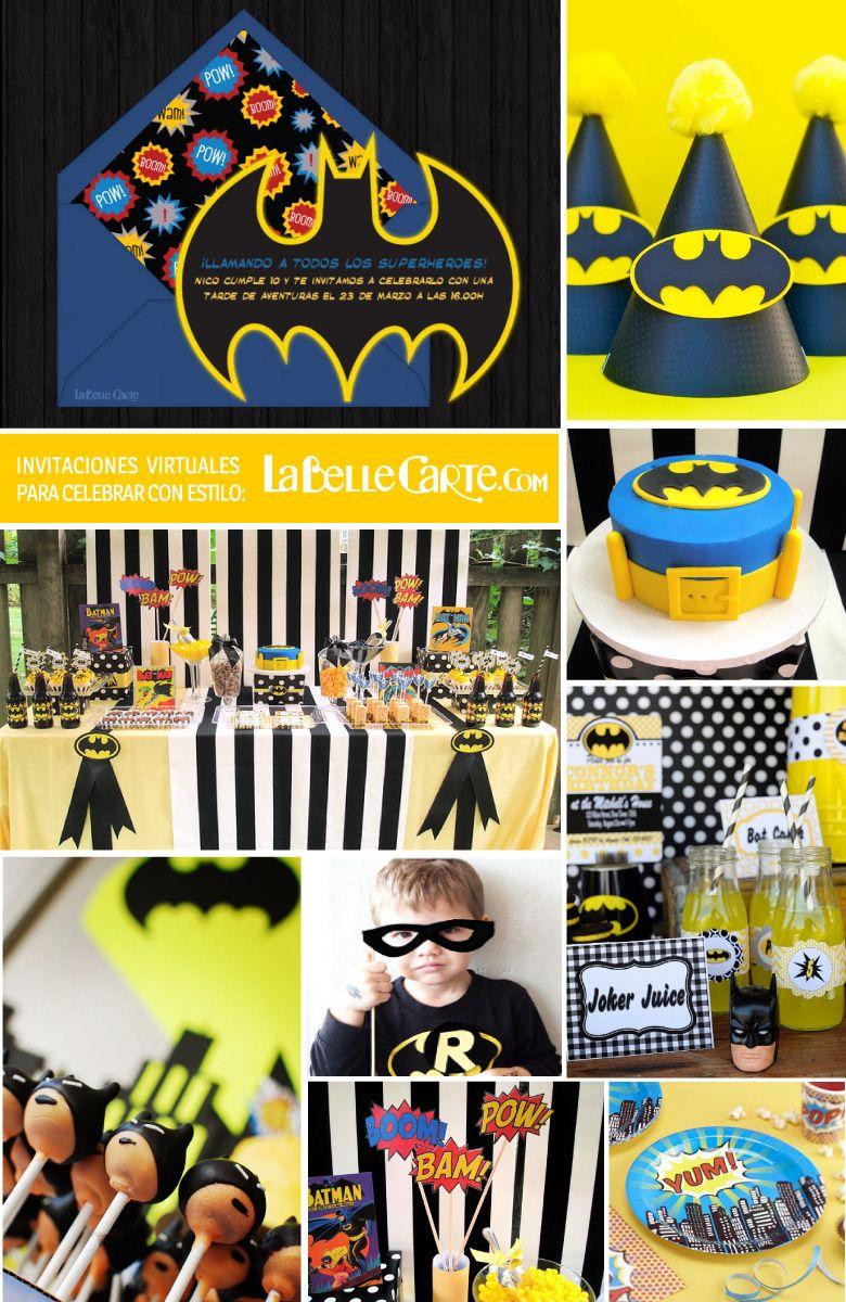 fiesta infantil batman superheroe super heroe tarta cupcakes cakepops para fiestas infantiles muy originales