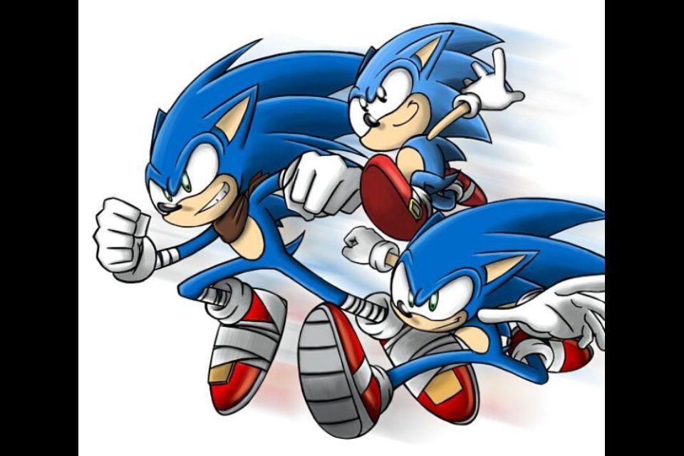 Classic Sonic Modern Sonic Boom Sonic Sonic Classic Sonic Sonic Fan Art