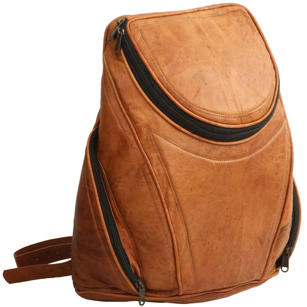 8d86500161b Pure Real Genuine Leather Vintage Style Unisex Rucksack Day Backpack  Handmade #fashion #clothing #shoes #accessories #mensaccessories #bags  (ebay link)