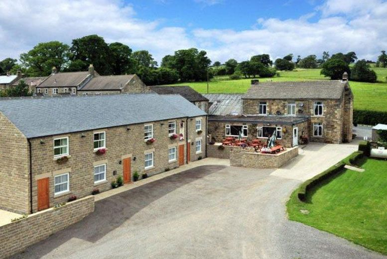 North Yorkshire Break, Dinner & Brewery Tour for 2