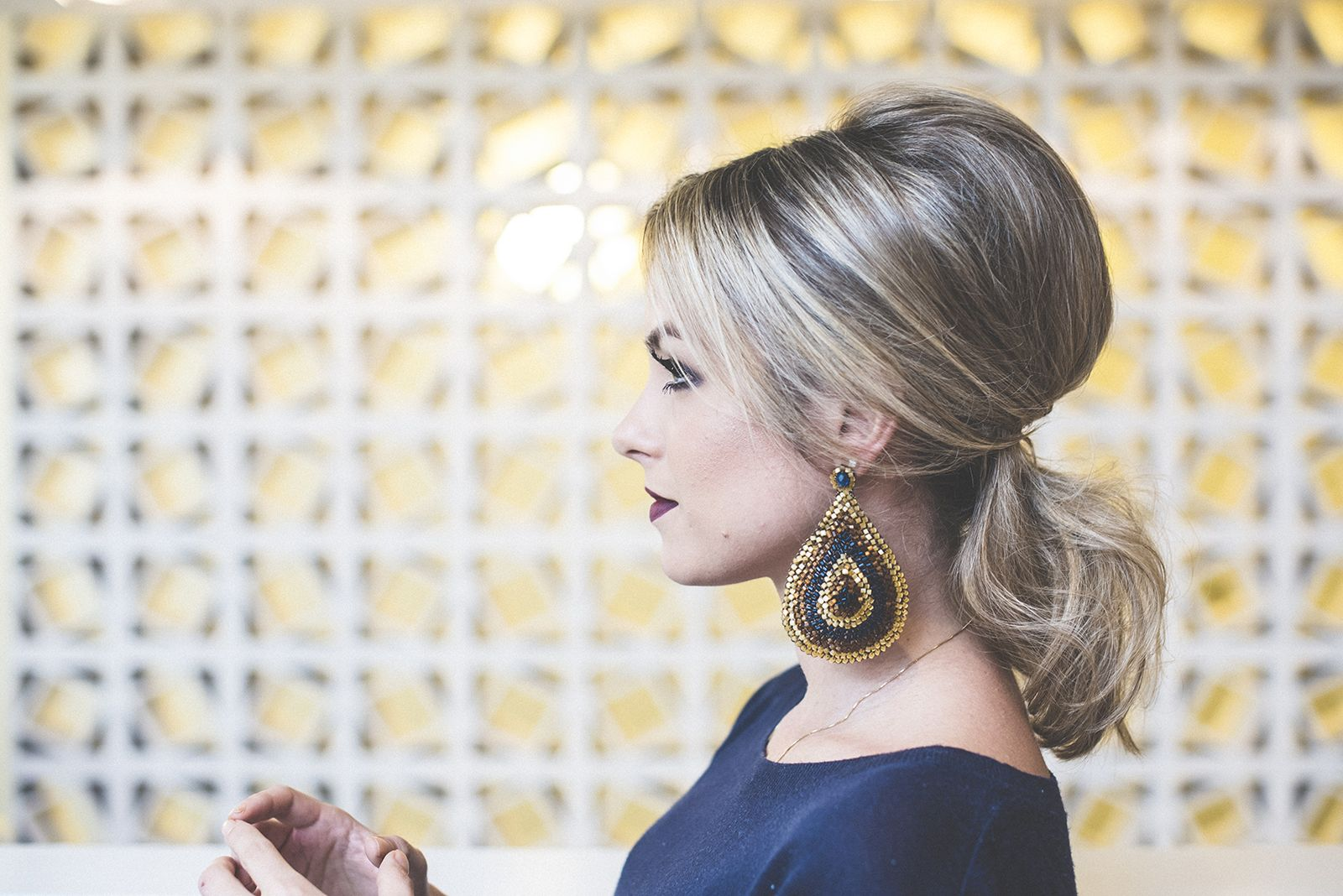 Mari michalik no bureau de estilo tif s encontro de beleza que