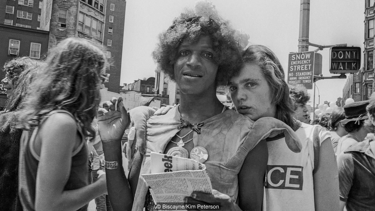 Photo of Marsha P. Johnson