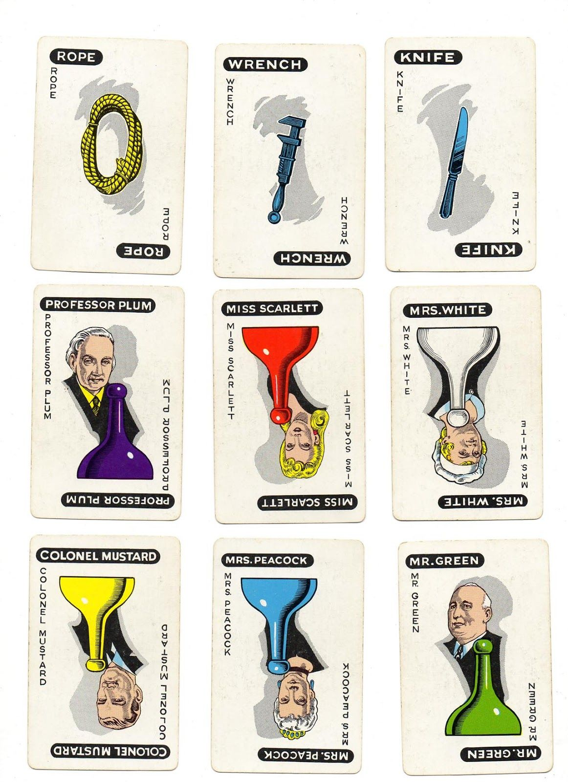 Dynamite image in printable clue game cards