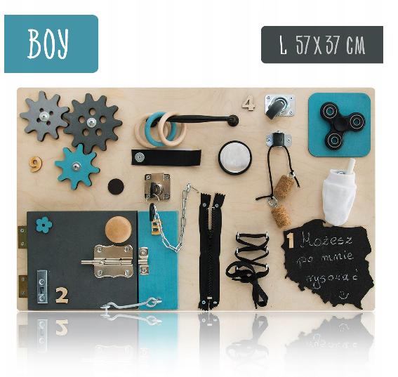 Tablica Manipulacyjna Sensoryczna Dla Dzieci Busy Board Girl Recznie Robiona Zapraszam Https Allegro Pl Oferta Tablica Manipulacyjna Sensory Boards Diy