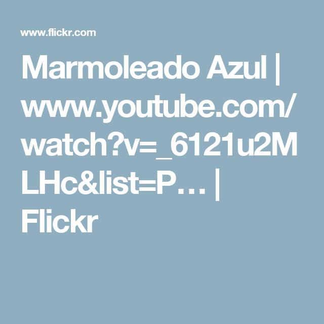 Marmoleado Azul Watch V
