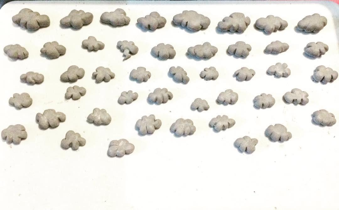 "Mynthia on Instagram: ""Teeny tiny cloud factory ☁️🏭☁️ ..."