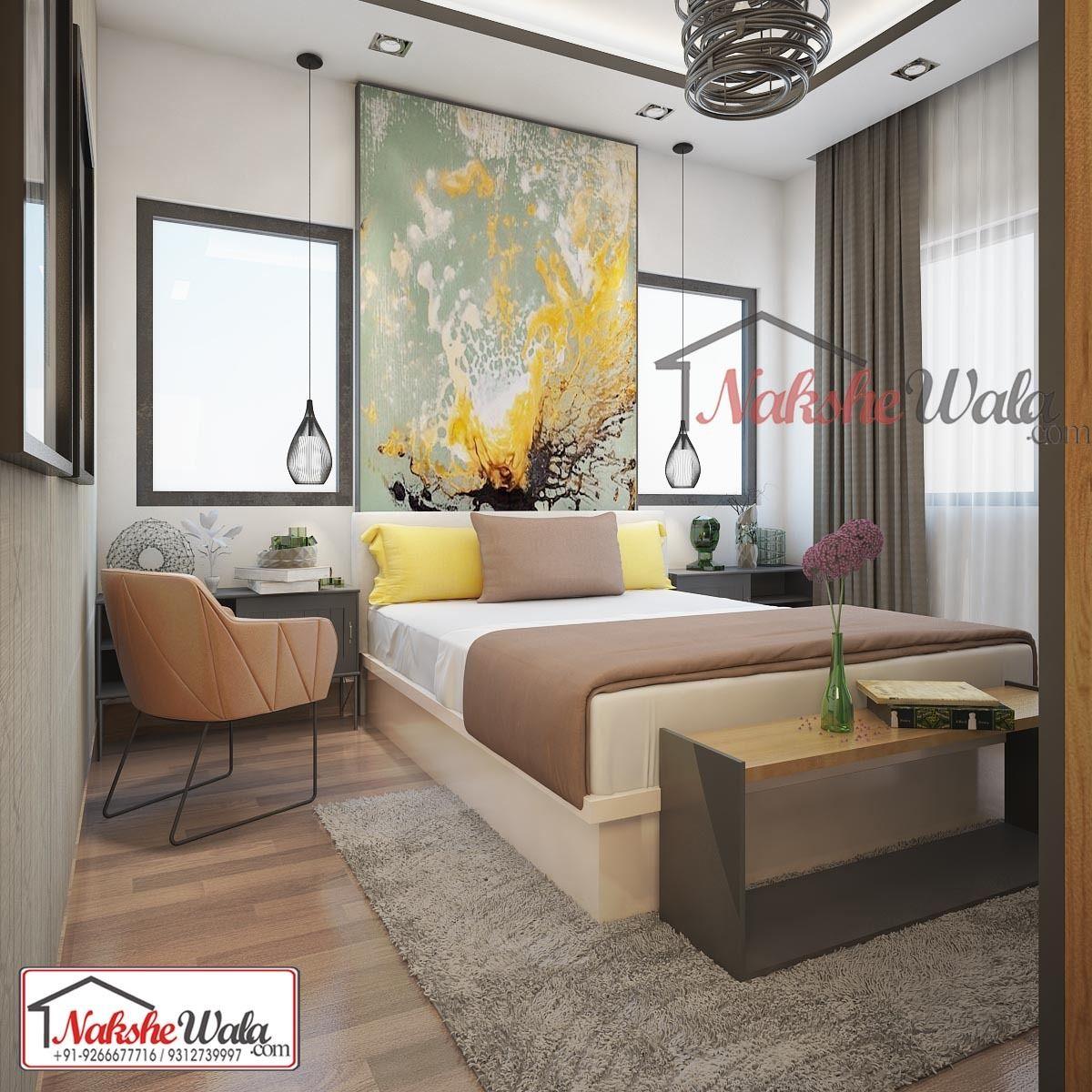 Simple Bed Room Interior Design By Nakshewala Interior Design Bedroom Interior Design Simple Bed