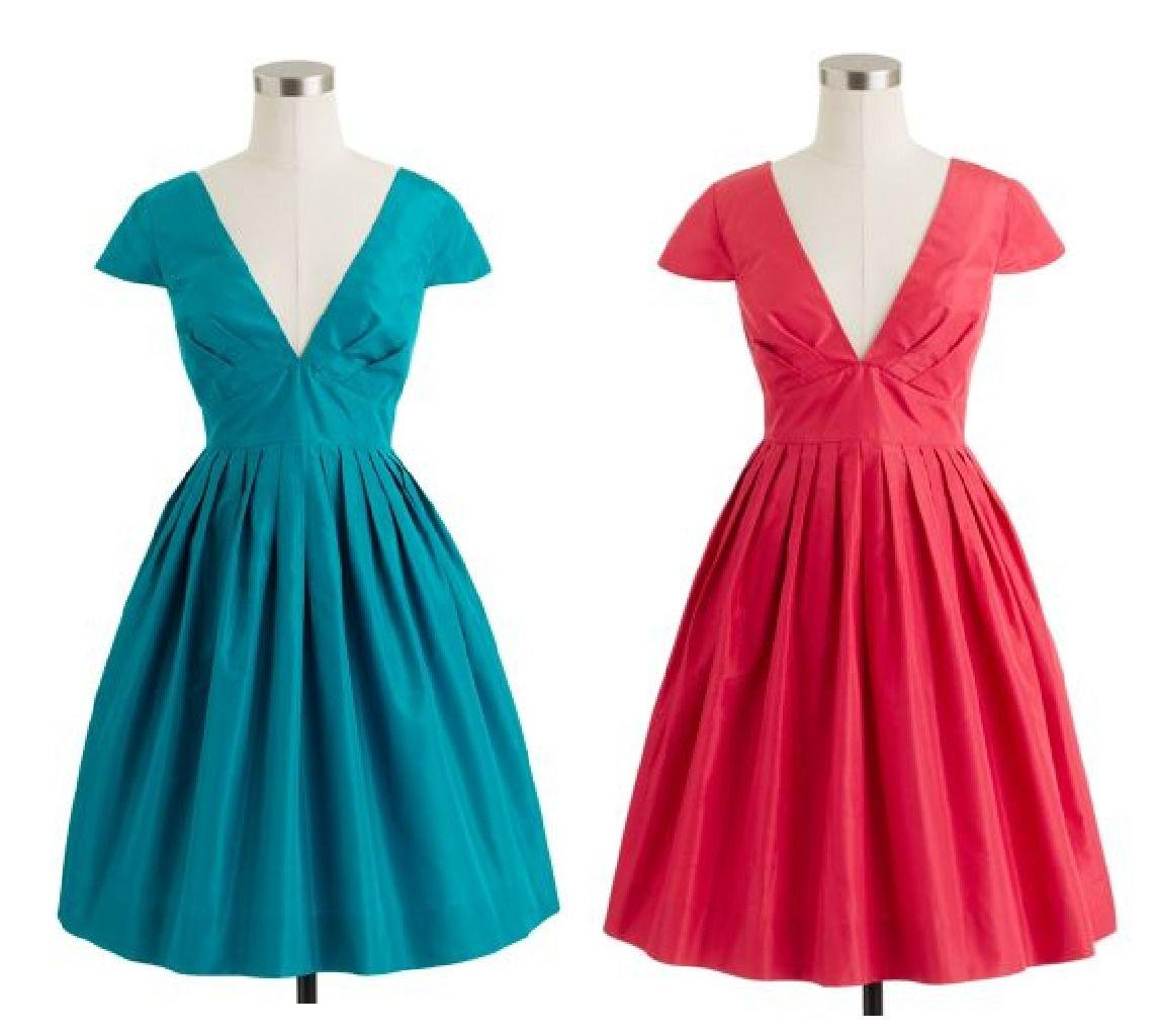 Full Skirt Jcrew Dress