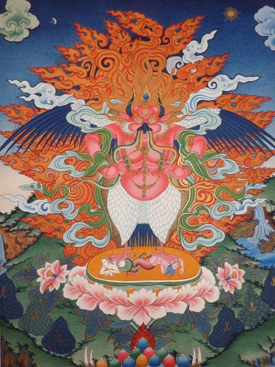 http gyalshen org wp content uploads 2011 11 red garuda jpg 宗教画 仏教 曼荼羅