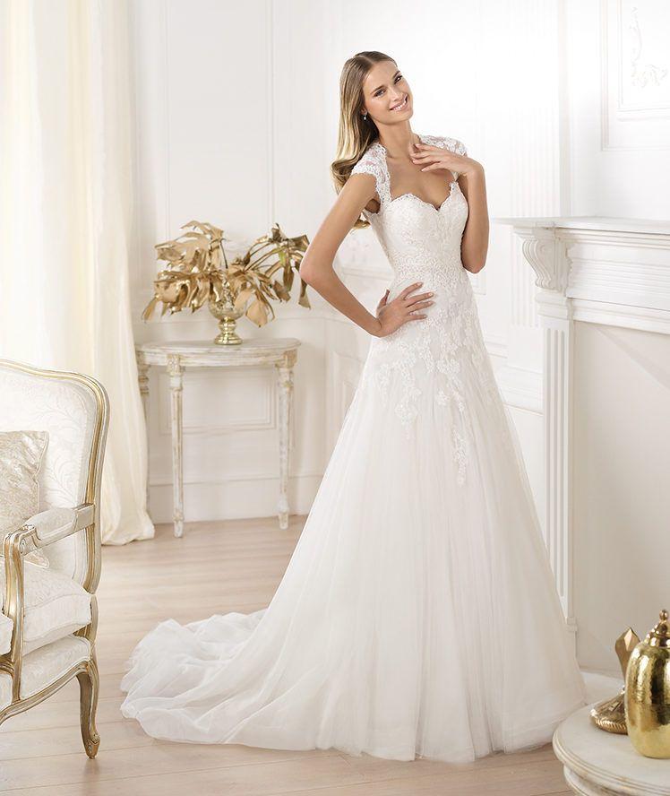 vestido de novia. modelo lany. colección fashion 2014. pronovias