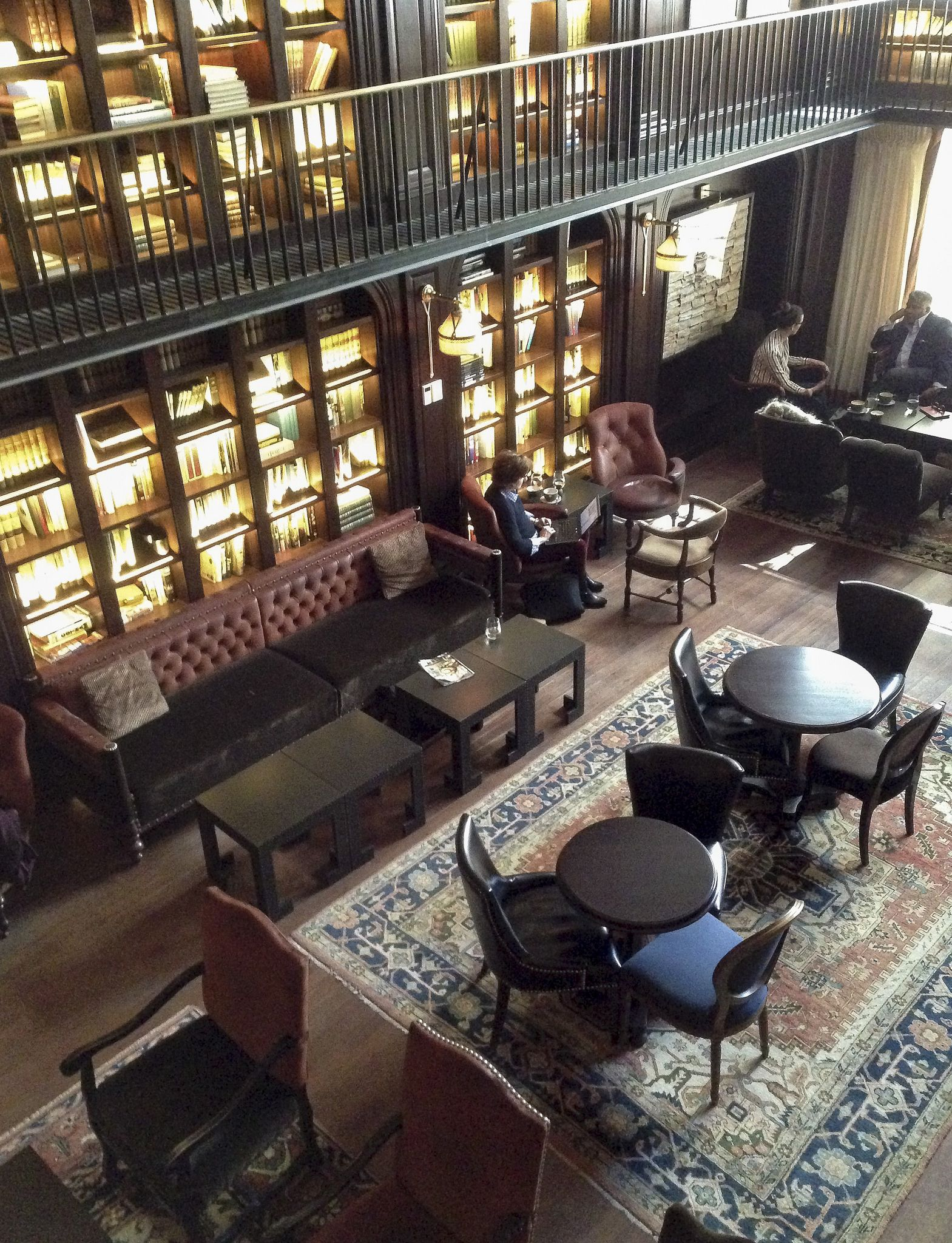 nomad hotel nyc in 2019 caf s and bookshops library ForNomad Hotel Decor