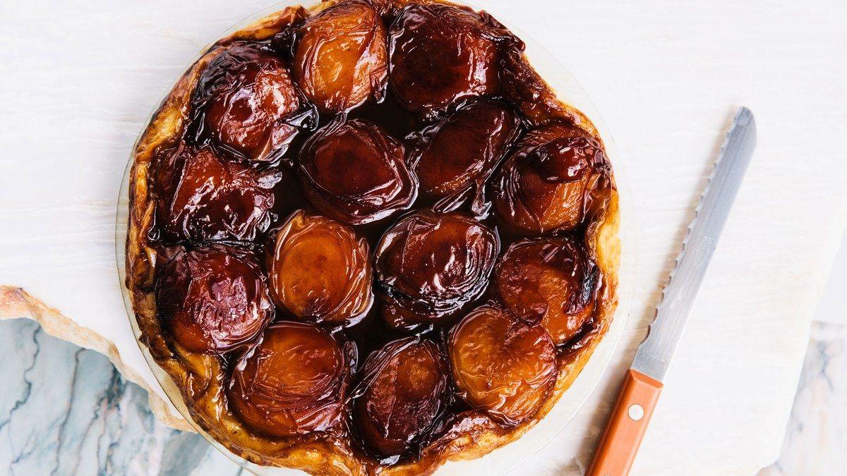Peach Tarte Tatin Recipe Recipe Tarte Tatin Recipe Peach Tart Peach Tarte Tatin
