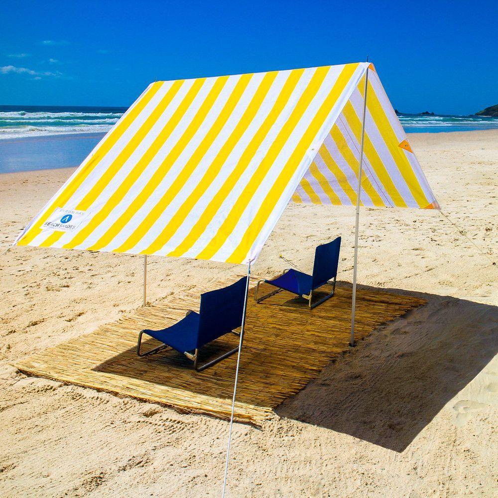 beach chair sun shade canopy in 2020 Beach shade, Beach