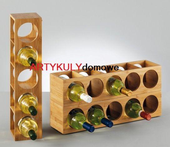 Stojak Na Wino Regal Na 5 Butelek Artykuly Domowe Wine Rack Wine Shelves Wine