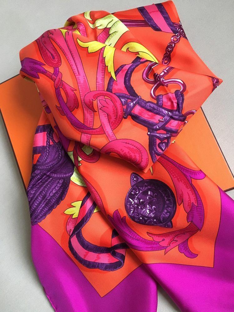 dfff2f611634 Neu Hermès Carré LE MORS A LA CONETABLE Seidentuch Tuch Foulard Silk Scarf  Schal   eBay
