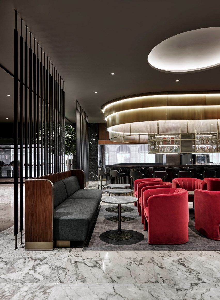 Arne jacobsen interior space copenhagen renovates arne jacobsen hotel using updated classic